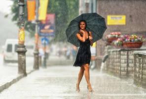Summer rain by WWWest