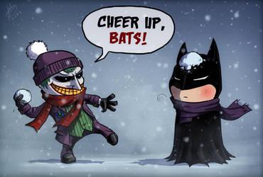 Snow in Gotham by devilhs