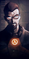 Subject: Gordon Freeman by devilhs