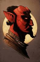 Hellboy by devilhs