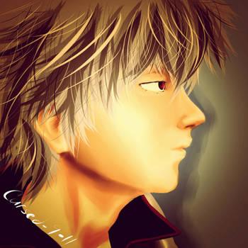 FanArt: Sakata Gintoki by Cursed-9-11