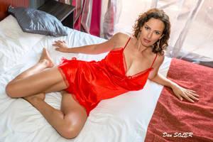 Jessy Red Babydoll 5 by DanSOLER