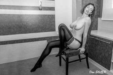Jessy on a chair by DanSOLER