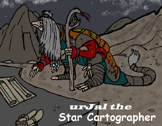 urJal the Star Cartographer by GearGades