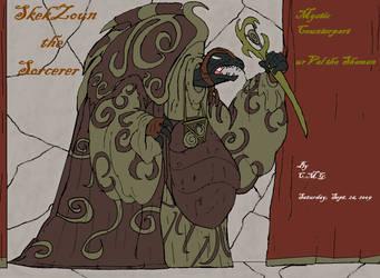 SkekZoun the Sorcerer by GearGades