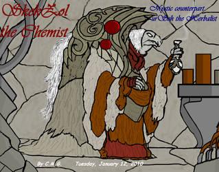 SkekZol the Chemist by GearGades
