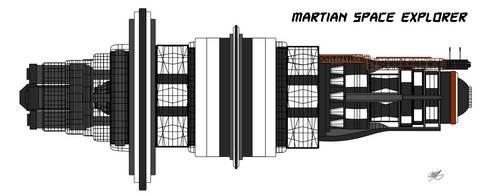 Martian Space Explorer by GearGades