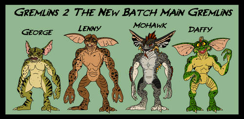 Gremlins - the New Batch Gremlins by GearGades