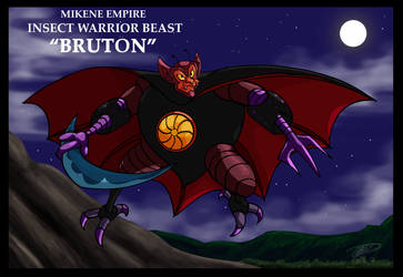 Mazinger series Mikene Empire - Bruton by GearGades