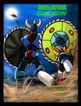 UFO Robot Grendizer - Vega Saucer Beast Gin Gin by GearGades