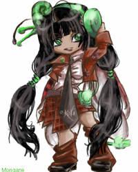 E-kaki mascot contest by Morigane