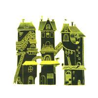 French Houses II print by JayCrum