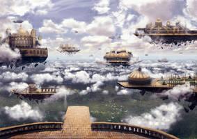 Imaginary World by DamianKrzywonos