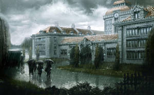 Rain by DamianKrzywonos