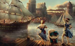 Port by DamianKrzywonos