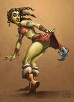 She's Gobbolicious by Smolin