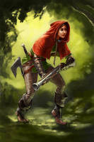 Red Hood by Smolin