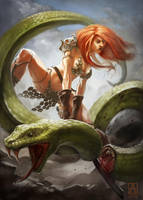 Red Sonja by Smolin