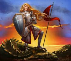Noble Knight by Smolin