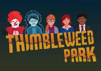 Thimbleweed Park by dibujandoalmargen