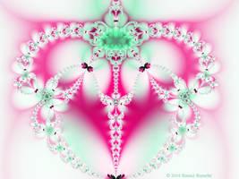 Valentine Fractal 2 by tijir