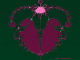 Valentine Fractal 9 by tijir