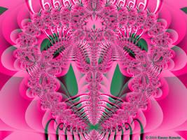 Valentine Fractal 10 by tijir