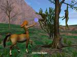 Unfinished Centaur 2 by tijir