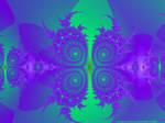 Blue Gree Pattern by tijir