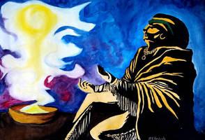 The Shaman. by MayaraHeidrich