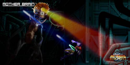 Super Metroid Memories - Mother Brain by Hyde209