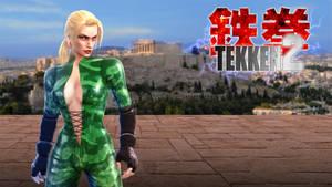 TEKKEN 2 - Nina the Silent Assassin by Hyde209
