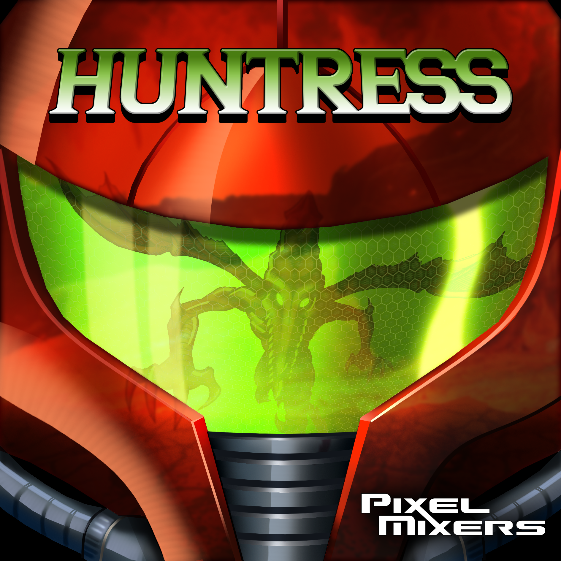 Metroid Huntress Album Cover by Hyde209
