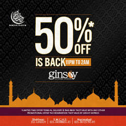 50% off is BACK! by kanzasid