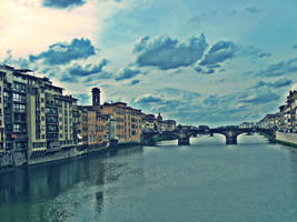 Ponte Vecchio. by unaproblemchild