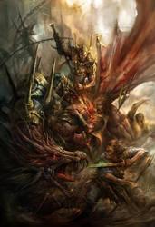 Dragon Rider by derrickSong