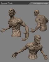 mudbox character by derrickSong