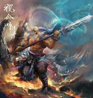 Fate Hunter OL Illustrations_hero_wuchan_var2 by derrickSong