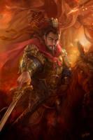 Dynasty Warrior Fanart - Caocao by derrickSong