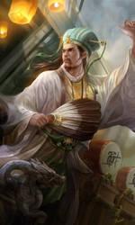 Dynaty warrior fanart - Zhugeliang by derrickSong