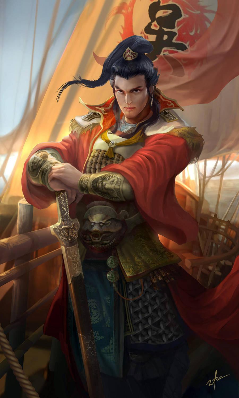 Dynasty warrior - SunQuan by derrickSong
