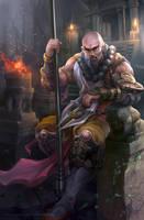 Diablo fanart - Monk by derrickSong