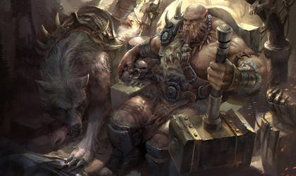 Orc-Orgrim by derrickSong