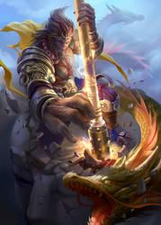 Wukong fanart by derrickSong