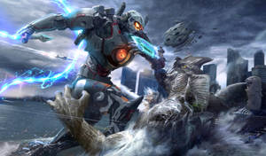 Pacific rim Jaeger Contest by derrickSong
