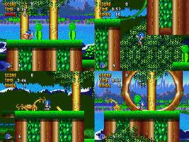 Sonic Worlds Fan game-Leaf Zone by ABluestorm