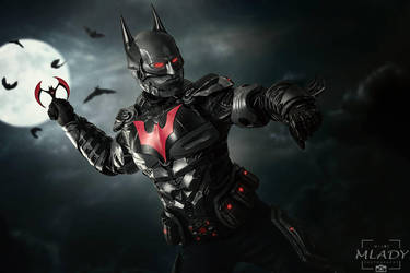 Batman Beyond Cosplay From The Game Arkham Knight By Ironmarkprops
