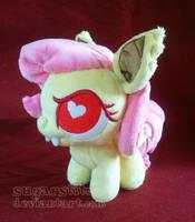 MLP FiM: Flutterbat Ponydoll by sugarstitch
