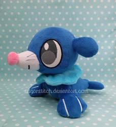 Pokemon: Petit Popplio by sugarstitch