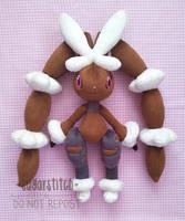 Pokemon: Mega Lopunny by sugarstitch